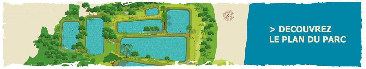 Le plan du parc aquacole à Pointe-Noire, Guadeloupe